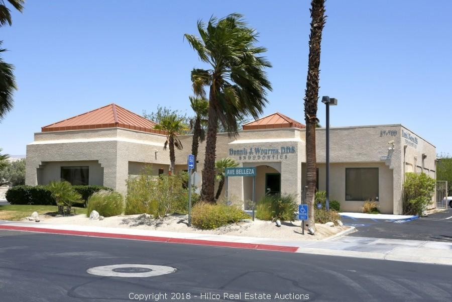 3,700 ± SF MEDICAL OFFICE/RETAIL BUILDING - PALM SPRINGS